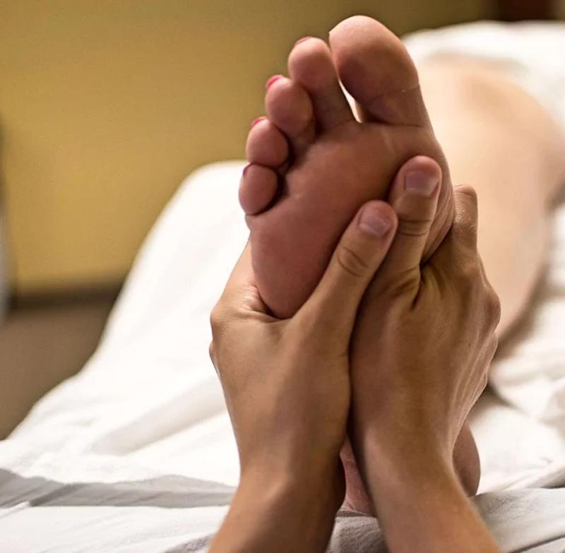 Reflexology Feet hands